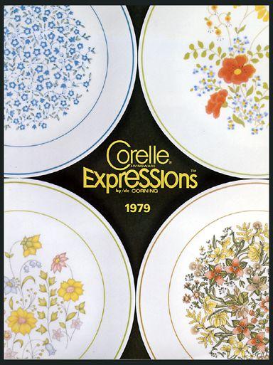 Corelle Expressions Vintage Ad Corelle Dishes Corelle