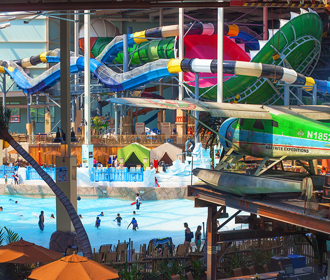 Splash All Day Long At Camelback Lodge S Indoor Waterpark Aquatopia Water Parks In Pa Indoor Waterpark Water Park