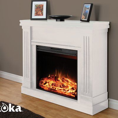Pin By Doris Reffner On For My New Home White Electric Fireplace