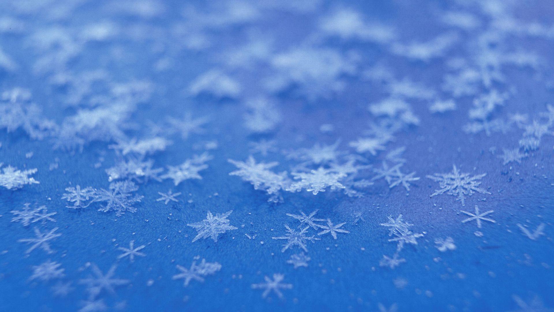 Free Desktop Snowflake Wallpaper Hd Snowflake Wallpaper Snowflakes Blue Backgrounds