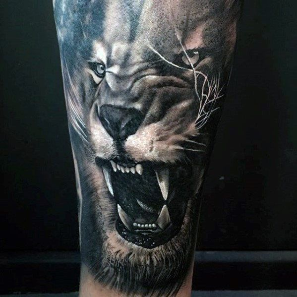 40 Lion Forearm Tattoos For Men Manly Ink Ideas In 2020 Mens Lion Tattoo Lion Tattoo Tattoos For Guys