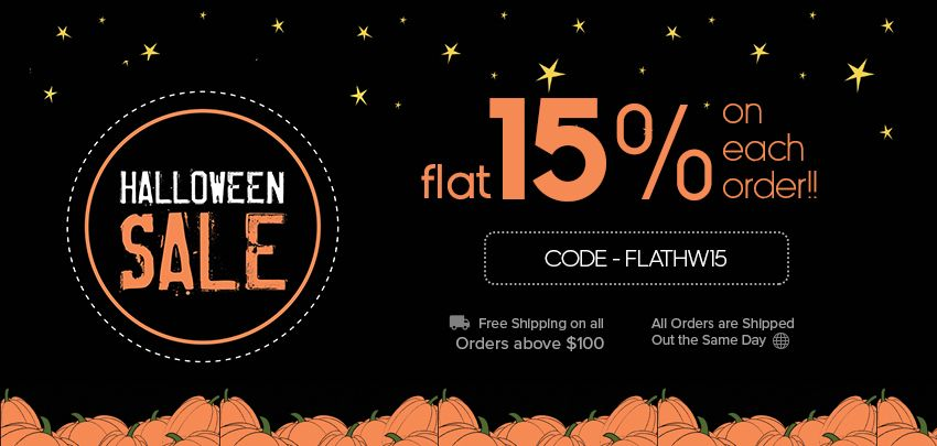 Shop Halloween ribbons, Halloween meshes and other craft, decoration