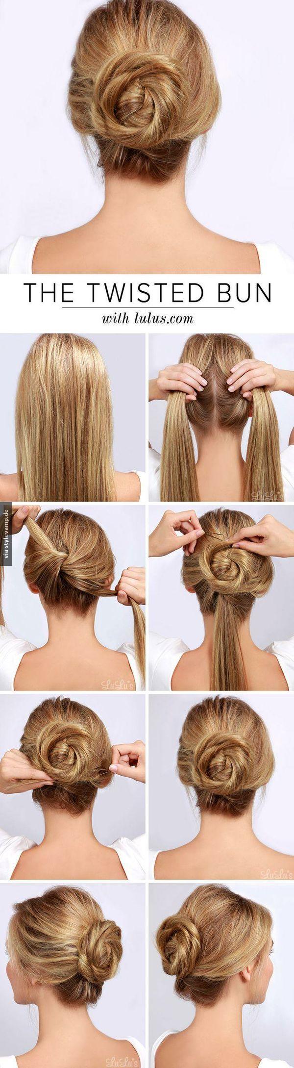 The twisted bun hair pinterest shoulder length hair shoulder