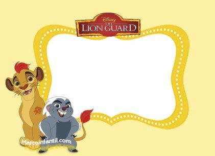tarjetas-la-guardia-del-leon-invitaciones-la-guardia-del-leon ...