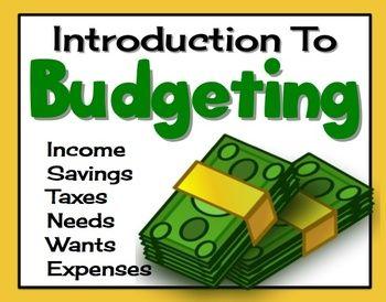 budgeting finances presentation economics pinterest budgeting