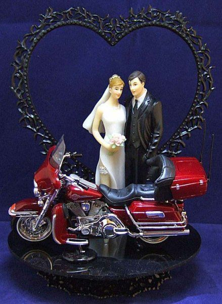 wedding cake topper harley davidson motorcycle harley davidson wedding cake topper 10 for him on his 26335