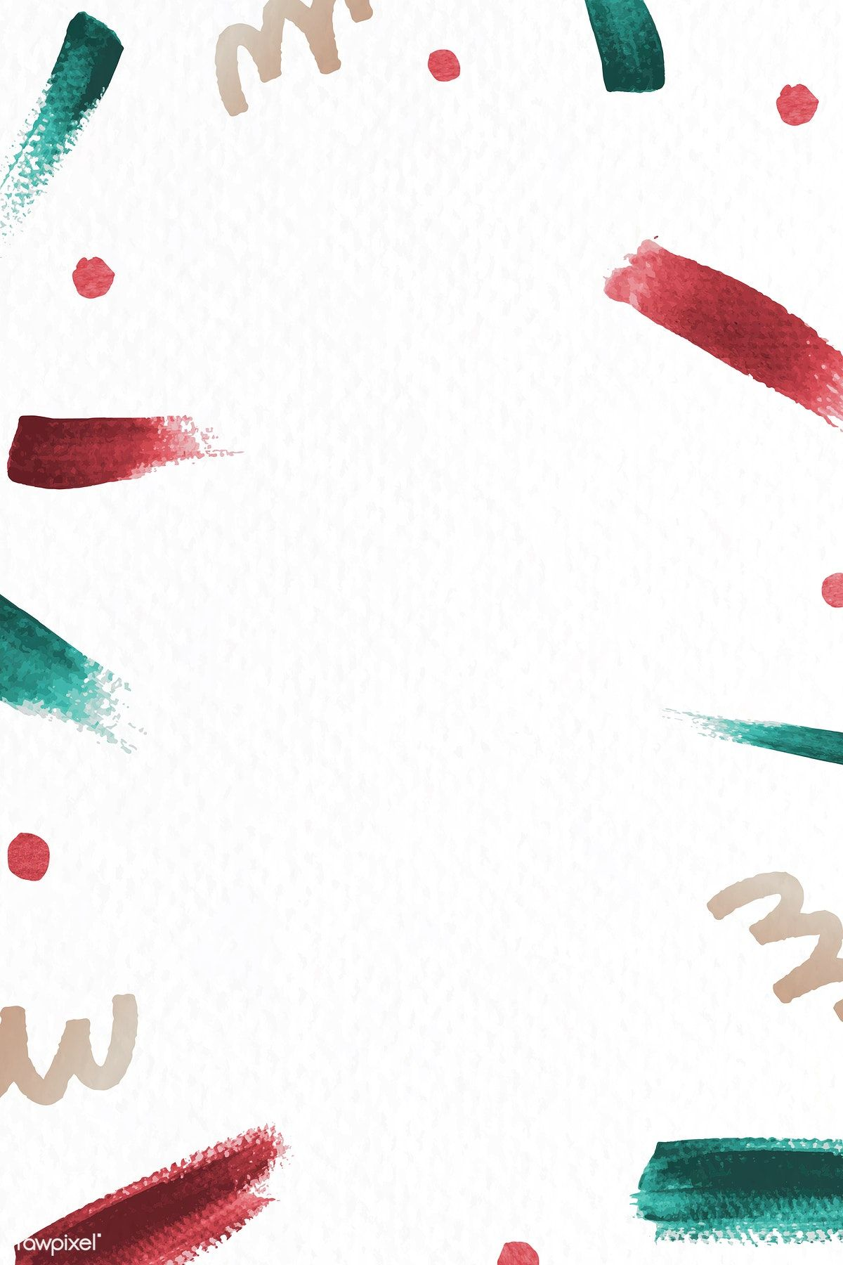 Download premium vector of Red and green brush stroke Christmas background #christmasbackgrounds