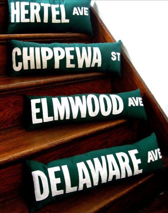 Pin By Nawbo Buffalo Niagara On Ms Majeestyle S Buffalo Ny Street Signs Buffalo Ny House Styles