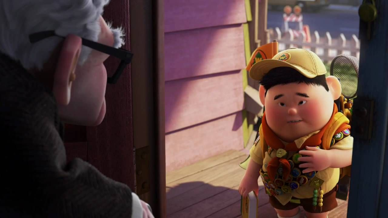 """UP """"Meet Russell"""" Video Clip Sequence of Events/ How"""