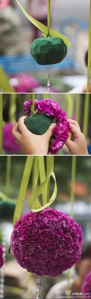 #flower #wedding #diy #hochzeitsdeko