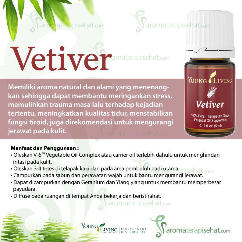 Vetiver Essential Oil Minyak Esensial Young Living Minyak