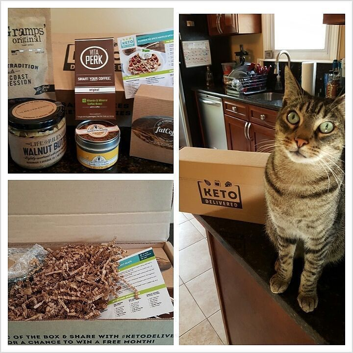 We were so excited to get our box of goodies from @ketodelivered today! This is a great way to find new artisan keto food! by shrinkingbride