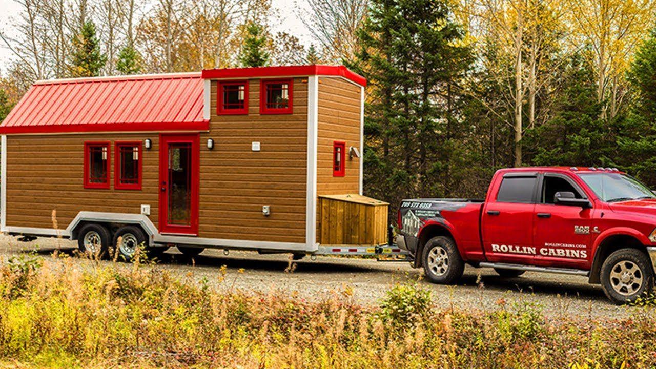 Rollin Cabins Tiny House (210 Sq Ft) | Tiny House Design Ideas | Le ...