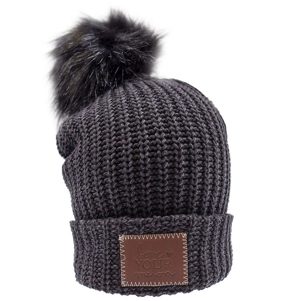 391f116bd Smoke Speckled Pom Beanie (Black Pom) in 2019 | Fashion | Love your ...