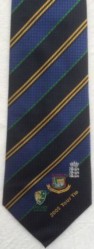 Silk tie australia #cricket 2005 tour tie logo #emblem motif lords #england,  View more on the LINK: http://www.zeppy.io/product/gb/2/201512988632/