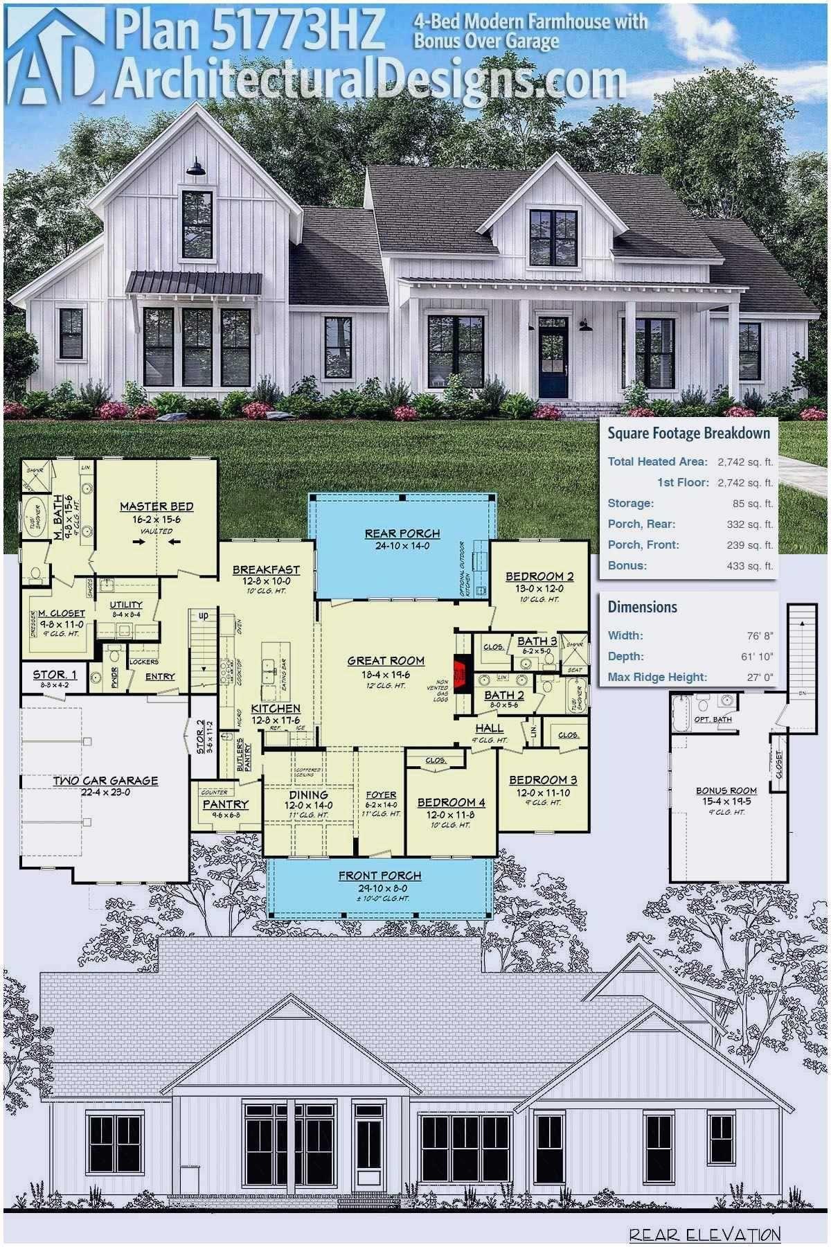Open Concept Single Story Farmhouse Plans Fresh 31 Best E Story Farmhouse Plans With Modern Farmhouse Plans Modern Farmhouse Floorplan Modern Farmhouse Floors