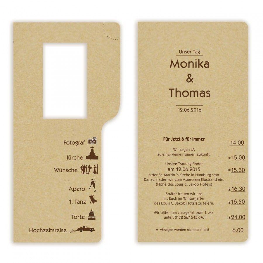 Fesselnd Moderne Hochzeitskarte Nr. 8