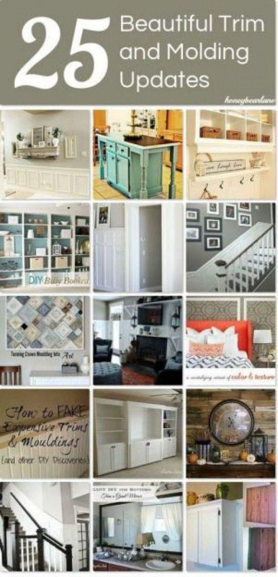 Photo of 25 Beautiful Trim and Molding Updates for the home! #recreationalroom #recreatio…,  #beauti…