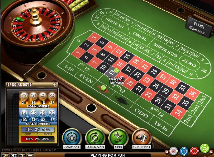online ruletka casino