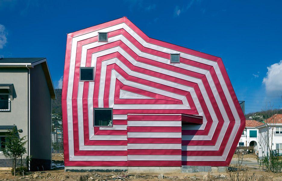 Lollipop House, South Korea, by Moonbalsso | Australian Design Review