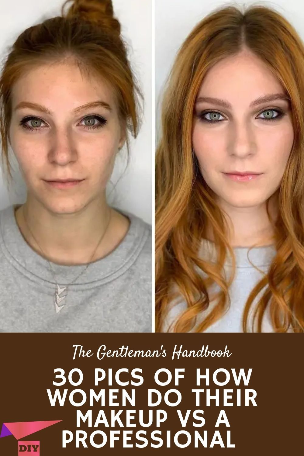 30 Pics Of How Women Do Their Makeup Vs A Professional Cosmetic Skin Care Lots Of Makeup Beauty