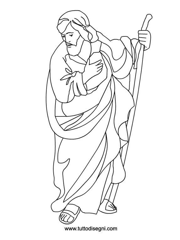 San giuseppe nativit pinterest nativit disegno e - Libero clipart storie della bibbia ...