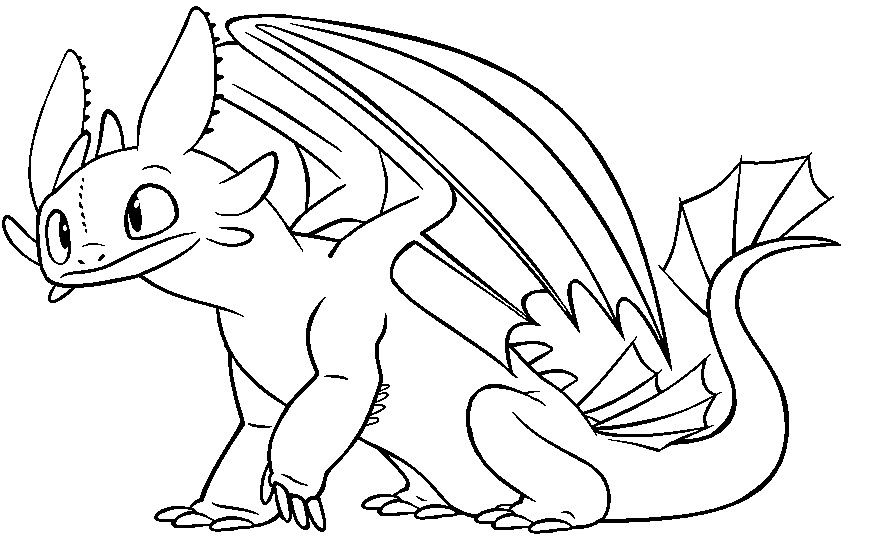 Toothless Google Kereses Dragon Coloring Page How Train Your Dragon Coloring Pages