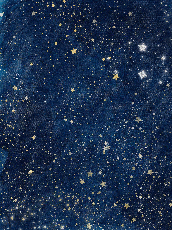 Celestial Space, Starry Night Sky   Night sky art, Night sky ...