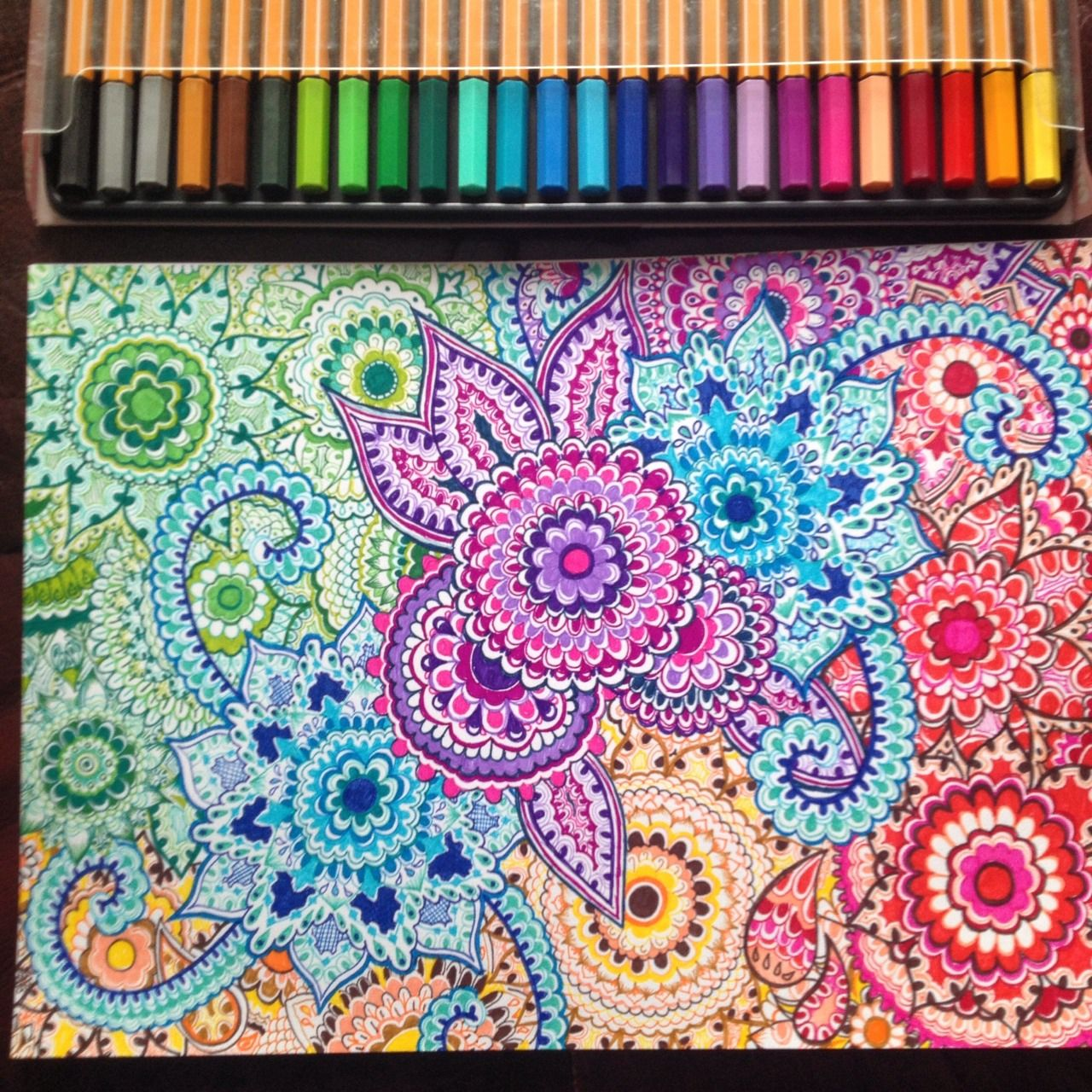 Colorful Henna Designs: Image Result For Colourful Henna Patterns On Paper