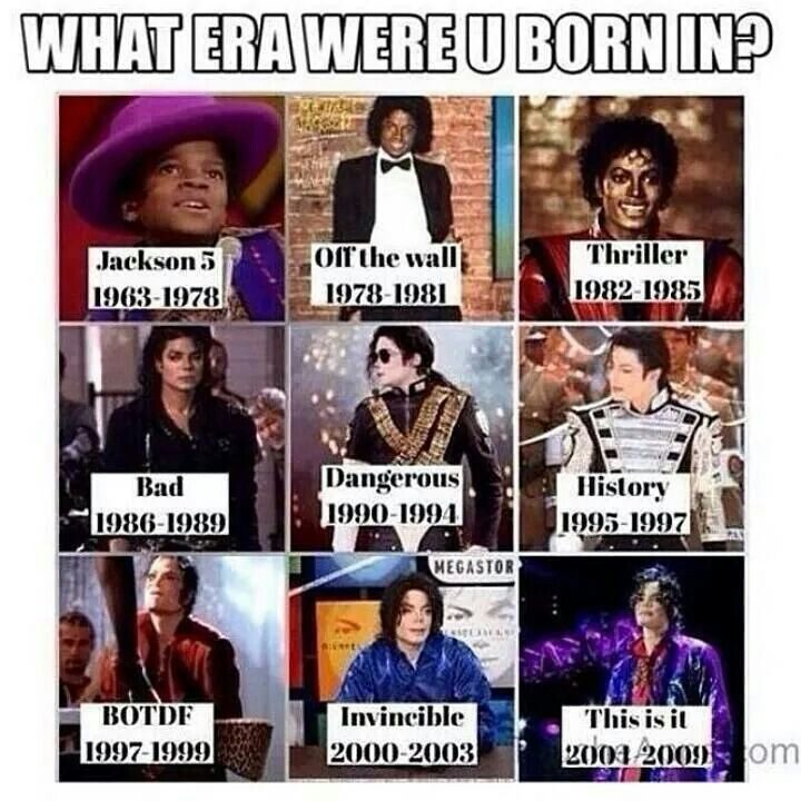 Years of MJ