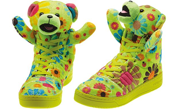 "check out 748ee e30f3 adidas Originals x Jeremy Scott JS Bear ""Flower Power"""