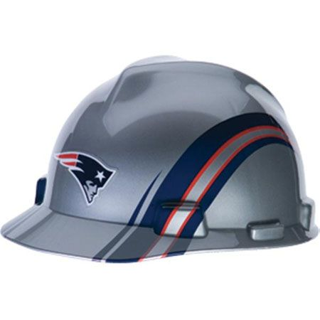 New England Patriots Hard Hat - NFL Licensed Construction Safety dabd85836030
