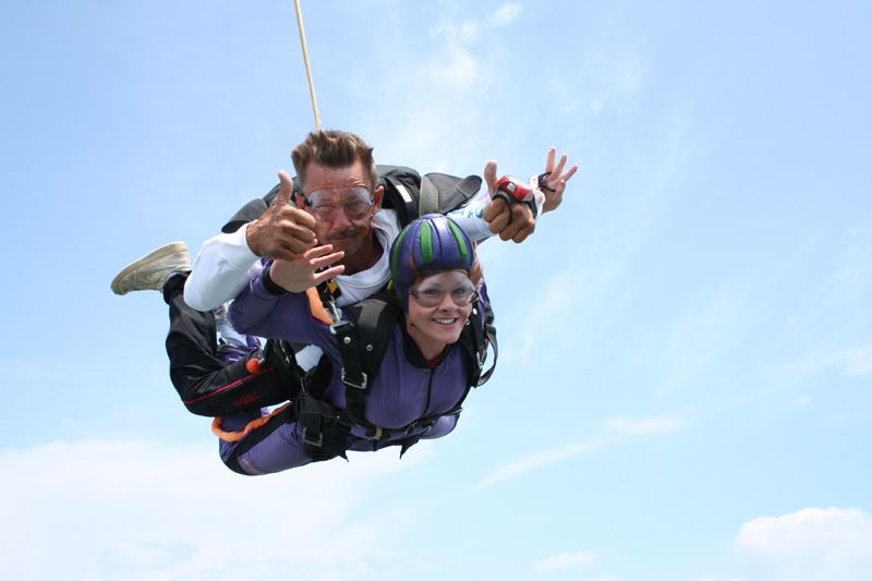 Skydive Orange County Tandem Skydiving How Tandem Jumps Prepare Tandem Jump Outdoor Activities Skydiving