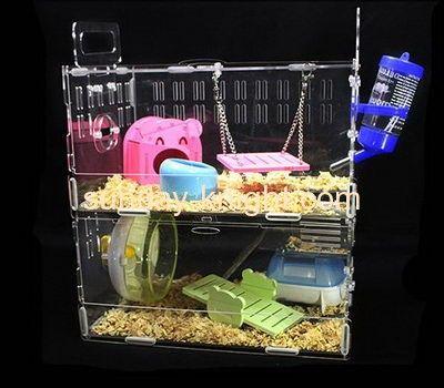 Plexiglass manufacturer custom acrylic double bird cage