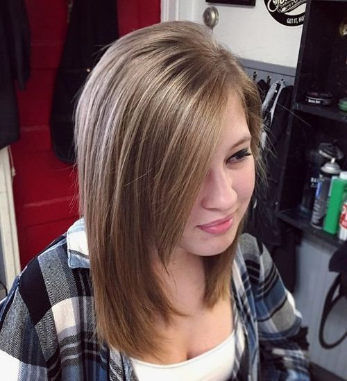40 Stylish Hairstyles And Haircuts For Teenage Girls Teenage Hairstyles Tween Girl Haircuts Teenage Girl Hairstyles