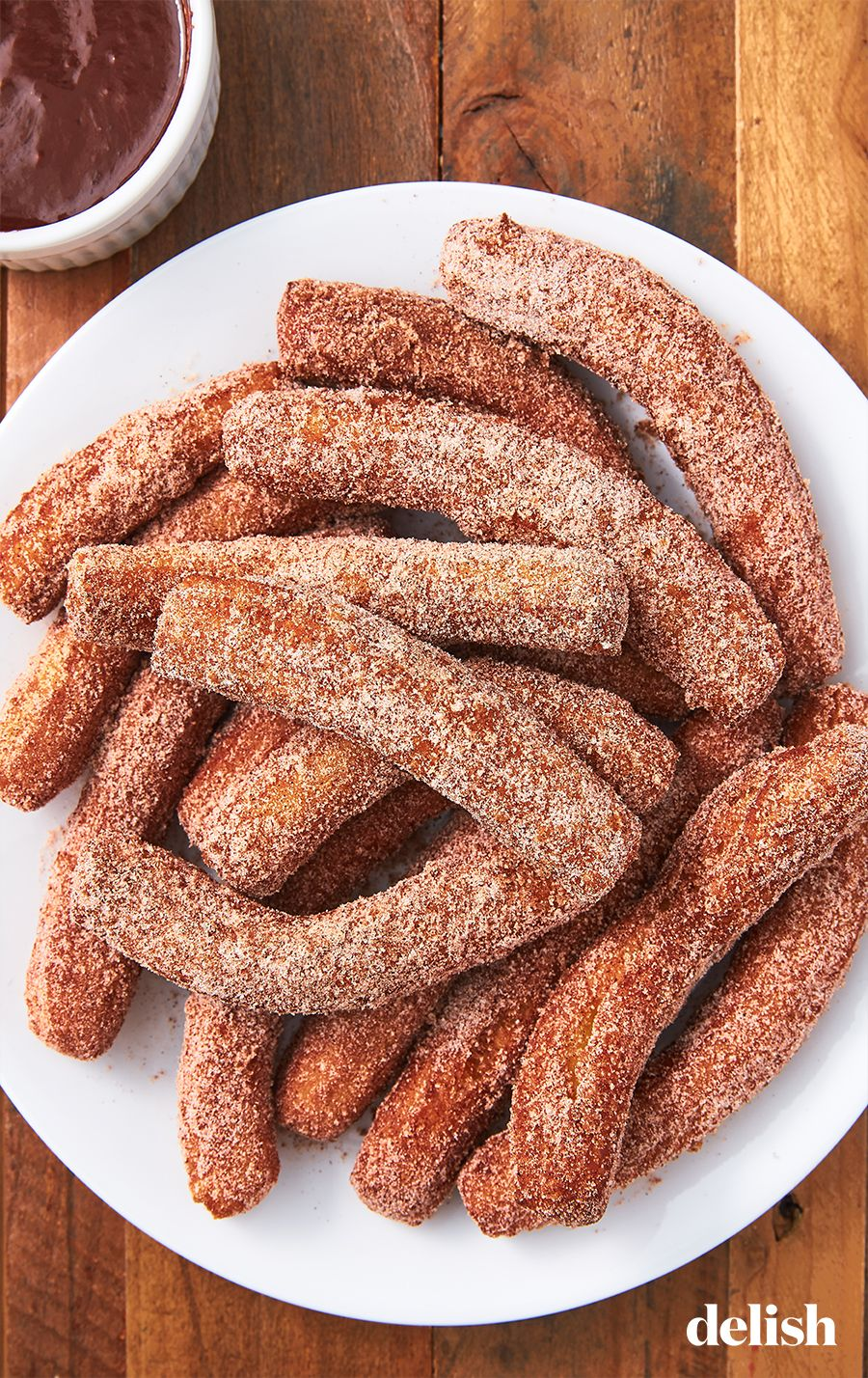 Churros Are Our Favorite Cinnamon Sugar Coated Treat Recipe Yummy Food Dessert Easy Churros Recipe Homemade Churros