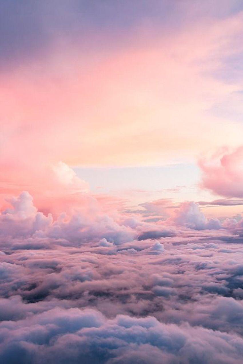 60 Pink Sky Wallpapers Download At Wallpaperbro Pink Clouds Wallpaper Clouds Wallpaper Sky Wallpaper