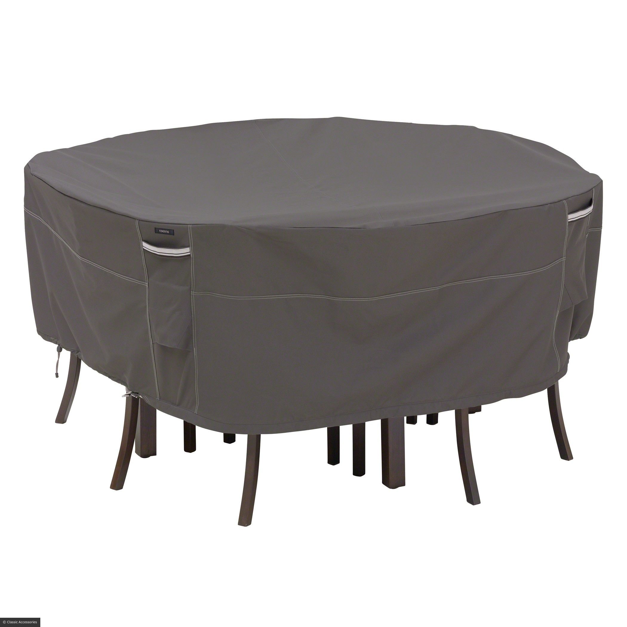 Classic Accessories Ravenna Round Patio Table u0026 Chair Set Cover Extra Large As Shown  sc 1 st  Pinterest & Round Patio Table Cover | Furniture Ideas | Pinterest | Round patio ...