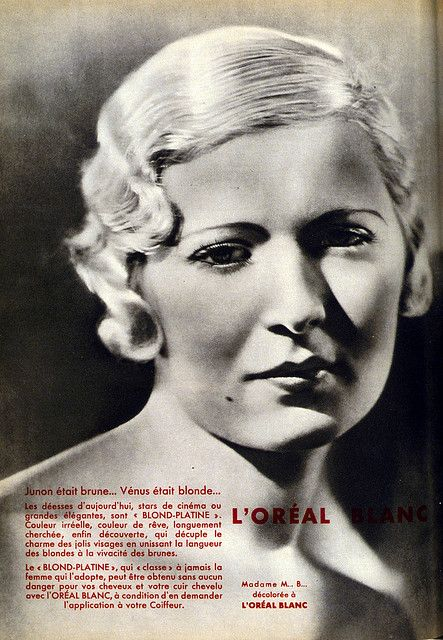 L Oreal Blanc Annonce Presse 1932 L Oreal Professionnel Loreal Top Hair Stylist