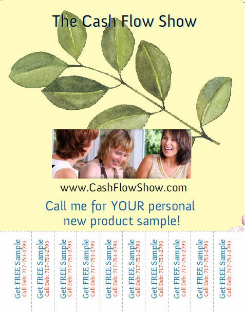 Use Tear Off Flyers to market a free sample that will lead to - free sample flyers