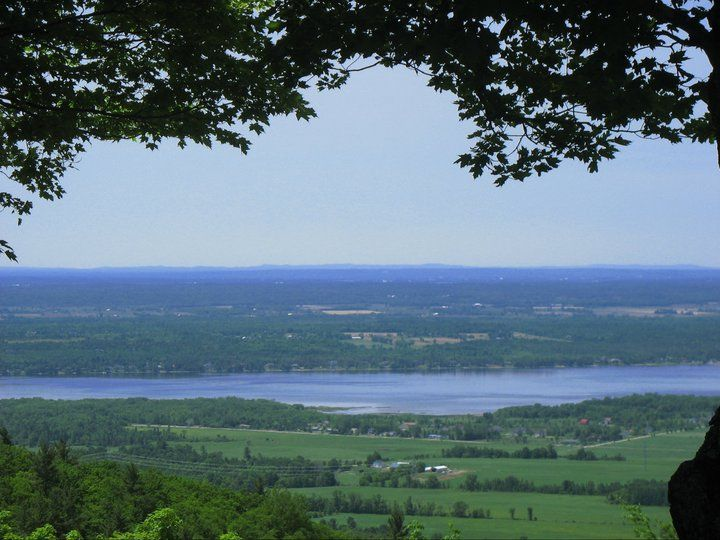 view from the Gatineau Park, Ottawa, Canada
