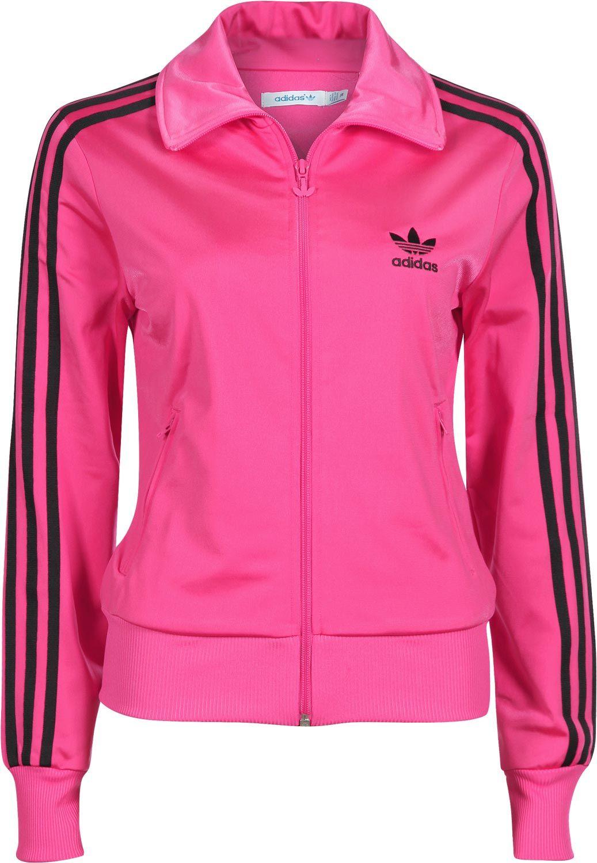 pink and black addidas jacket | back Home adidas Firebird TT W ...