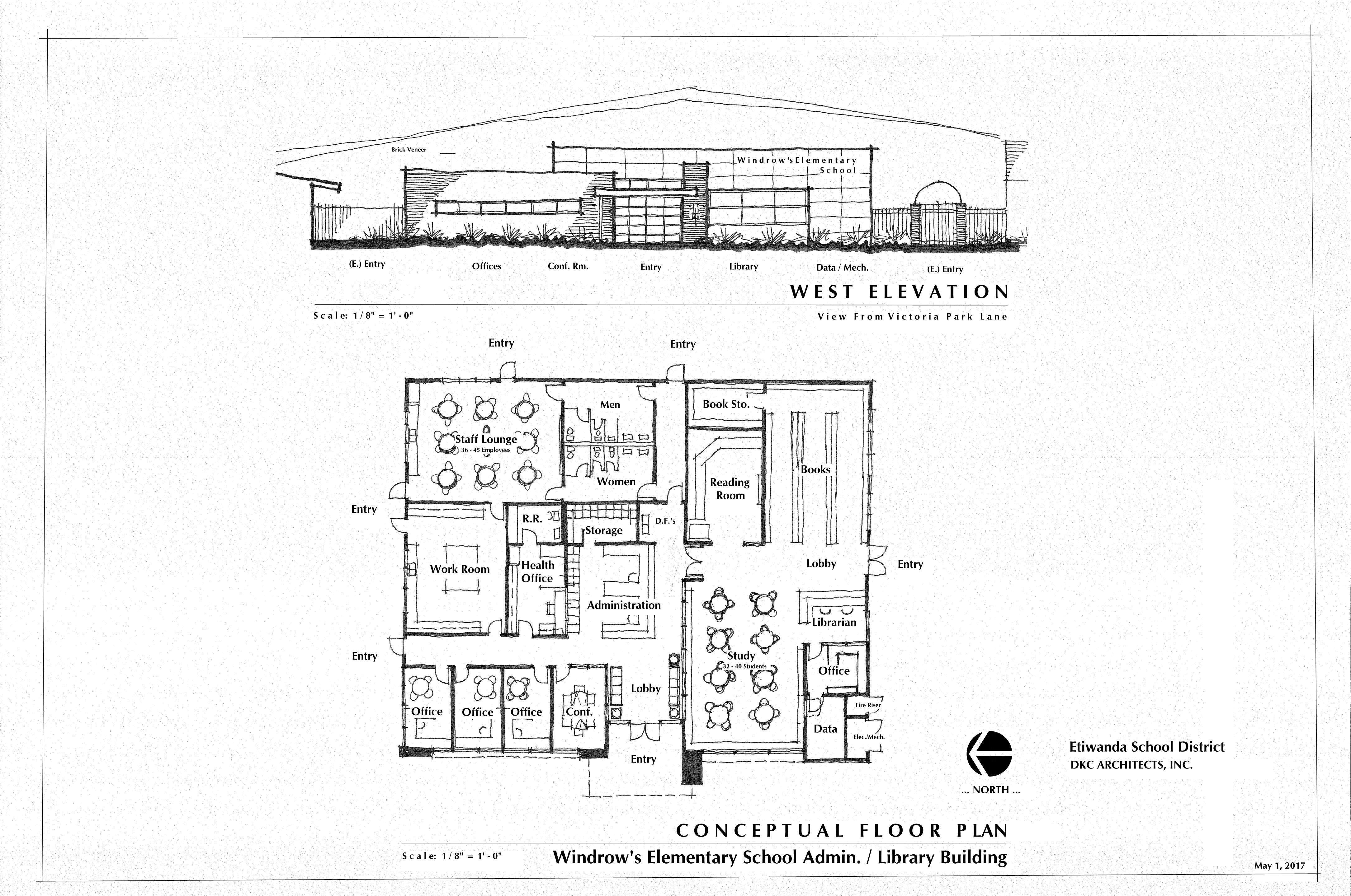 New Project Etiwanda School District Windrows Elementary School