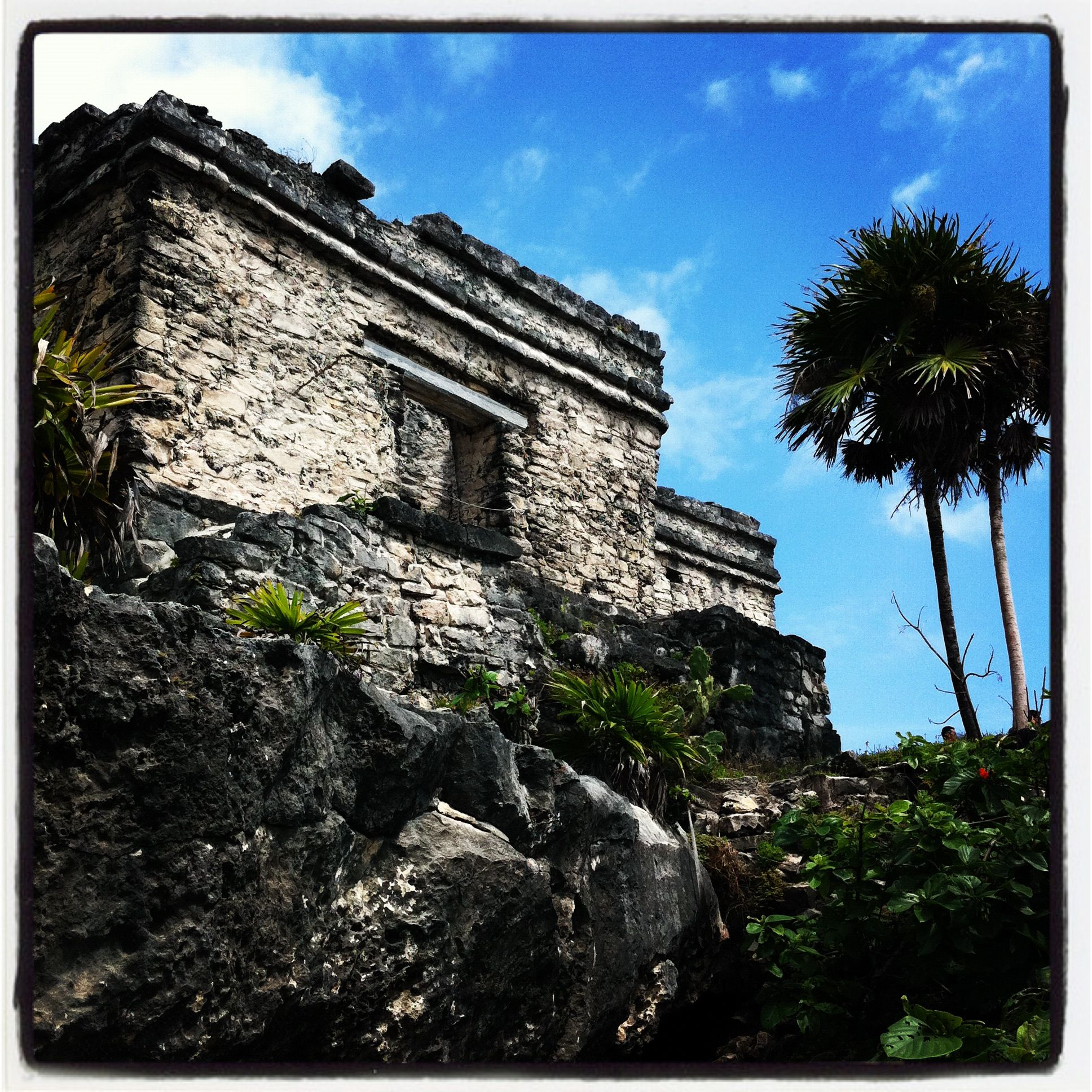 Best Places In Mexico To See Ruins: Tulum Mayan Ruins On Isla Mujeres On The Yucatan Peninsula