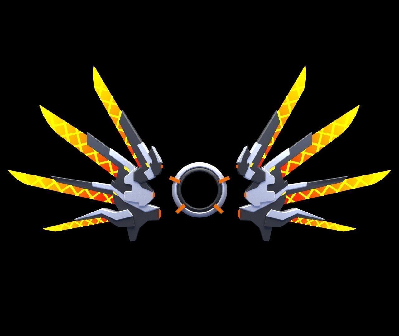 Mecha Wings 3d Model Mecha Gundam Wallpapers 3d Model Character