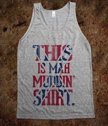 this is mah muddin shirt
