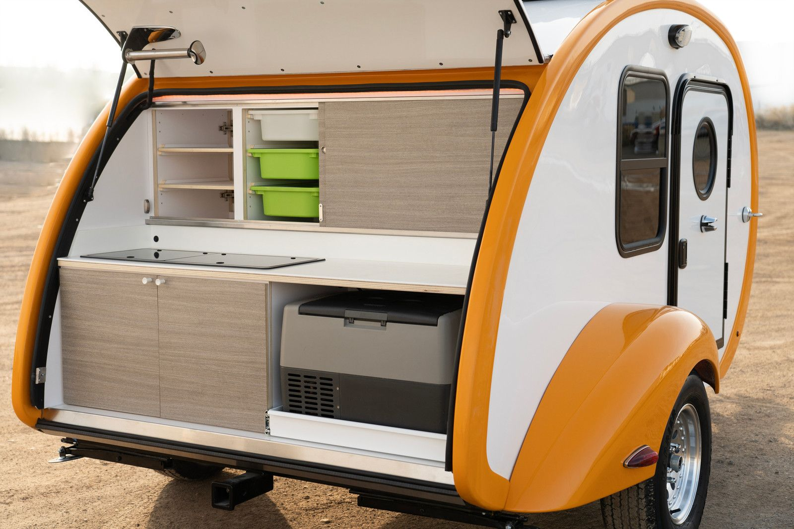 Bean Trailer   Classic Bean   Fiberglass storage, Laminate ...