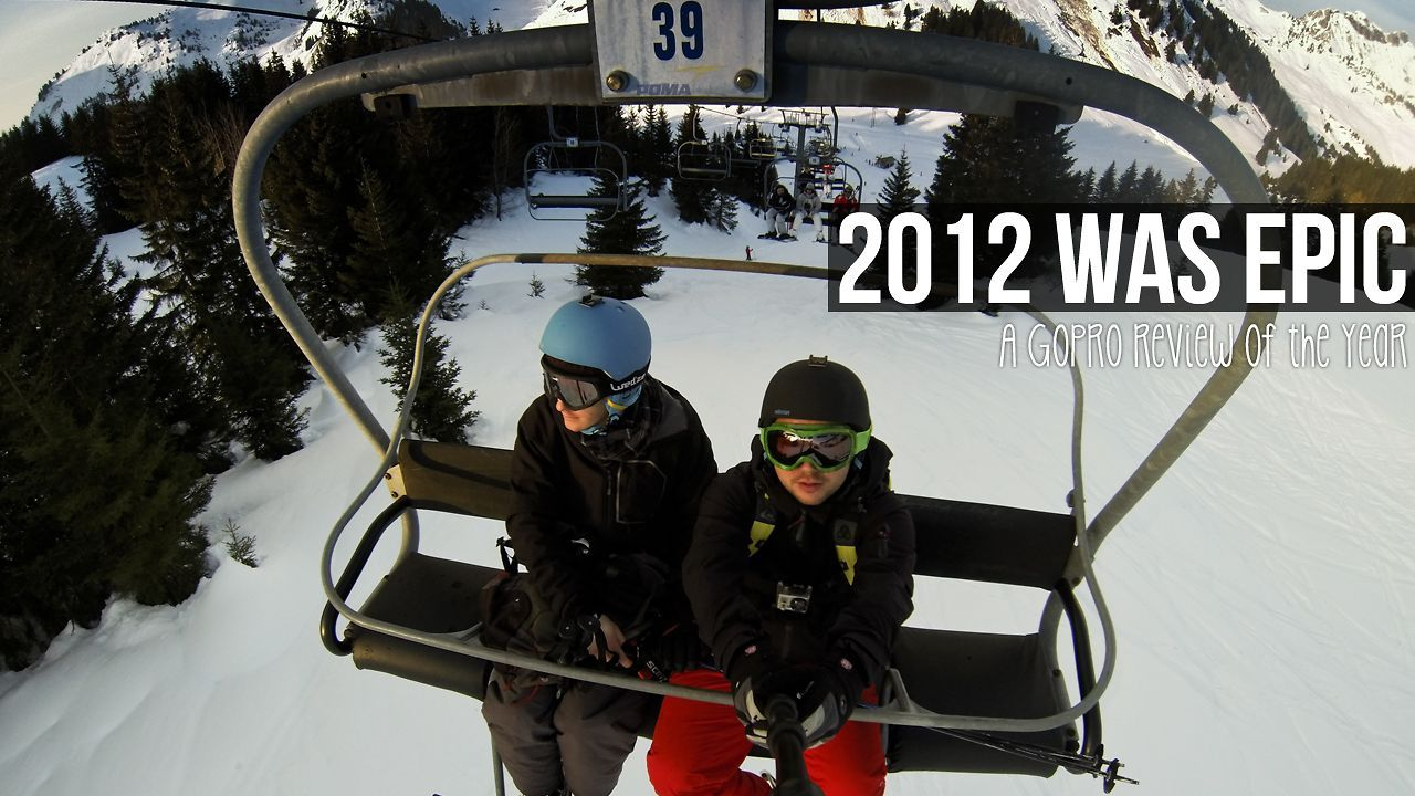 2012 was epic (GoPro review of the year edit). Shot with GoPro Hero 2 and Hero 3 black edition in France over a year. Edited with final cut ...