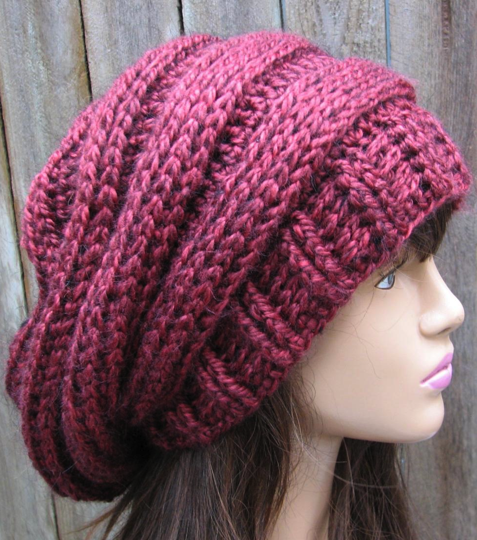 Crochet Hat - Slouchy Hat Pattern | Crochet/knit--yarn addict ...