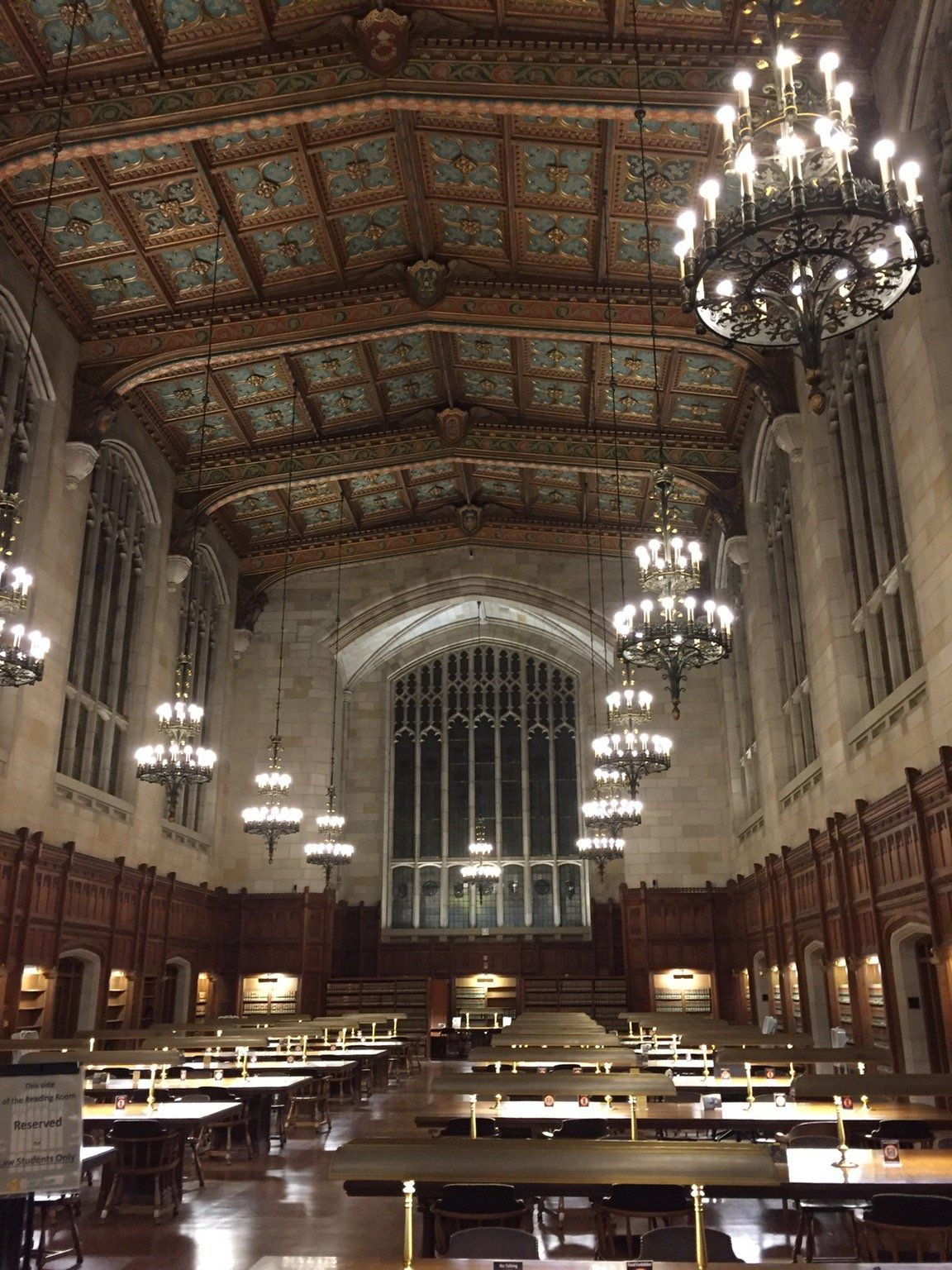 Law Library at the University of Michigan [1334 x 750] - Interior ...